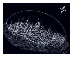 derek-mckindles-futuristic-bubble-city